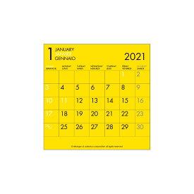エトランジェ カレンダー 2021年 卓上 CD 数字 CLS-CD-04 カレンダー (カレンダー)