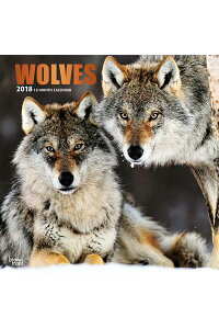 2018WolvesWallCalendarCAL2018-WOLVESWALLCAL[IncBrowntroutPublishers]