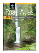 2018 Rand McNally Road Atlas with Protective Vinyl Cover