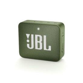 JBL GO2 グリーン JBLGO2GRN ポータブル Bluetoothスピーカー