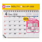 U228 4月始まりNOLTYカレンダー卓上30 ([カレンダー])