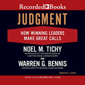 Judgment: How Winning Leaders Make Great Calls JUDGMENT 8D [ L. J. Ganser ]