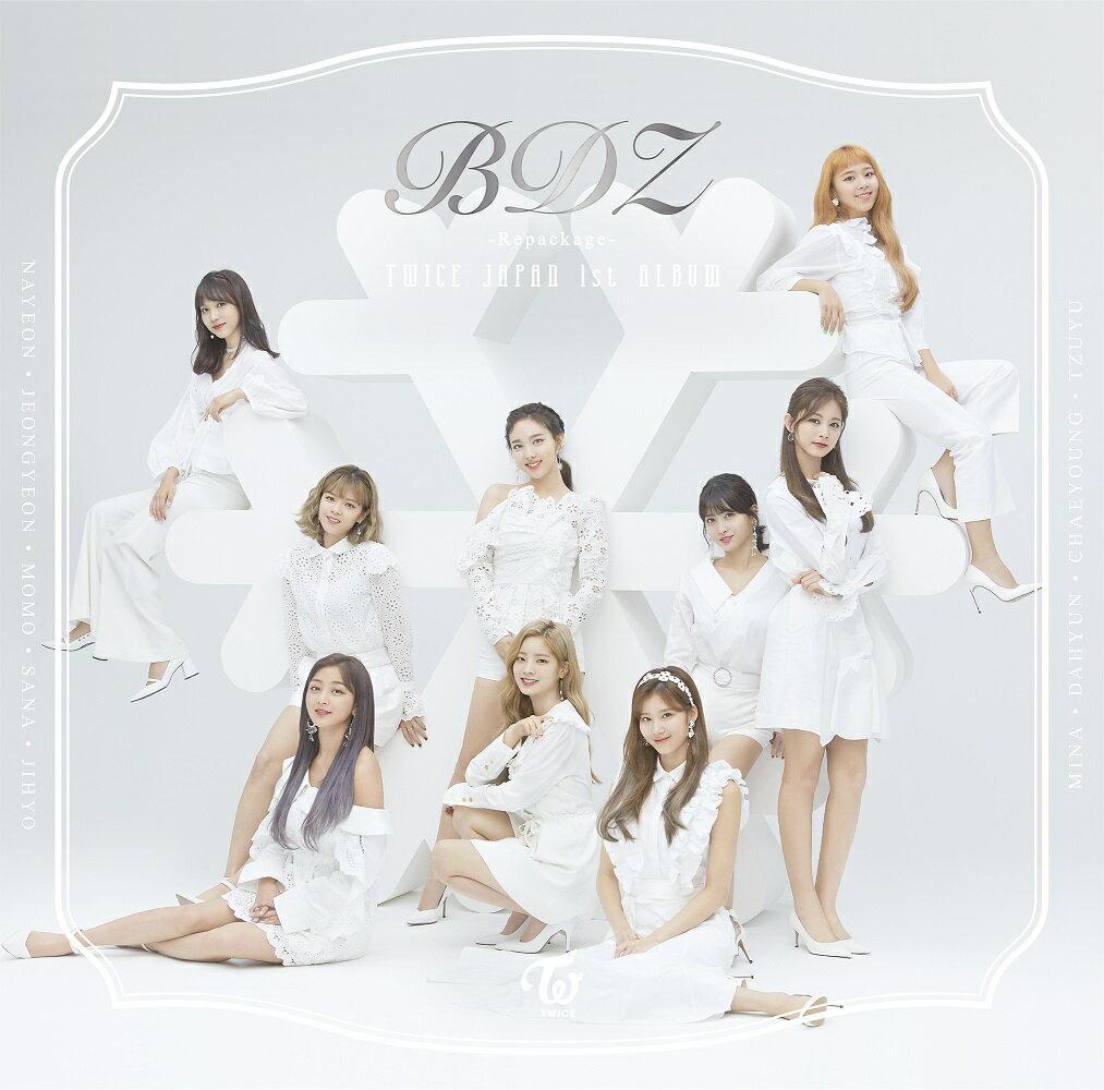 【先着特典】BDZ -Repackage- (初回限定盤 CD+DVD) (スマホスタンド付き) [ TWICE ]
