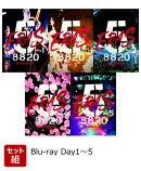 【セット組】B'z SHOWCASE 2020 -5 ERAS 8820-Day1〜5【Blu-ray】