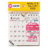 U239 4月始まりNOLTYカレンダー卓上39 ([カレンダー])