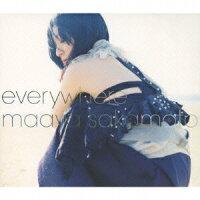 【楽天】everywhere(初回限定CD+DVD)