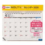 U241 4月始まりNOLTYカレンダー卓上41 ([カレンダー])