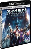 X-MEN:アポカリプス(4K ULTRA HD+3D+2Dブルーレイ/3枚組)【4K ULTRA HD】【3D Blu-ray】