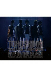 TOHOSHINKI_LIVE_CD_COLLECTION〜Five_in_the_Black〜