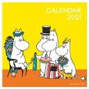 ムーミン壁掛けカレンダー カラフルスクエアタイプ (学研カレンダー2021) [ トーべ・ヤンソン ]