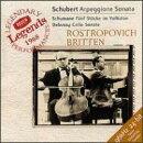 【輸入盤】シューベルト:アルペジオーネ・ソナタ、シューマン:民謡風の5つの小品、他 ロストロポーヴィチ(vc)…
