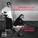 【輸入盤】4手ピアノによるドヴォルザーク:交響曲第9番『新世界より』、スメタナ:『モルダウ』、『シャールカ』 …