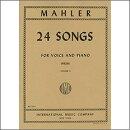 【輸入楽譜】マーラー, Gustav: 歌曲選集 第2巻 (高声用) (独語・英語)