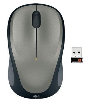 ロジクール ワイヤレスマウス m235 シルバー M235rSV
