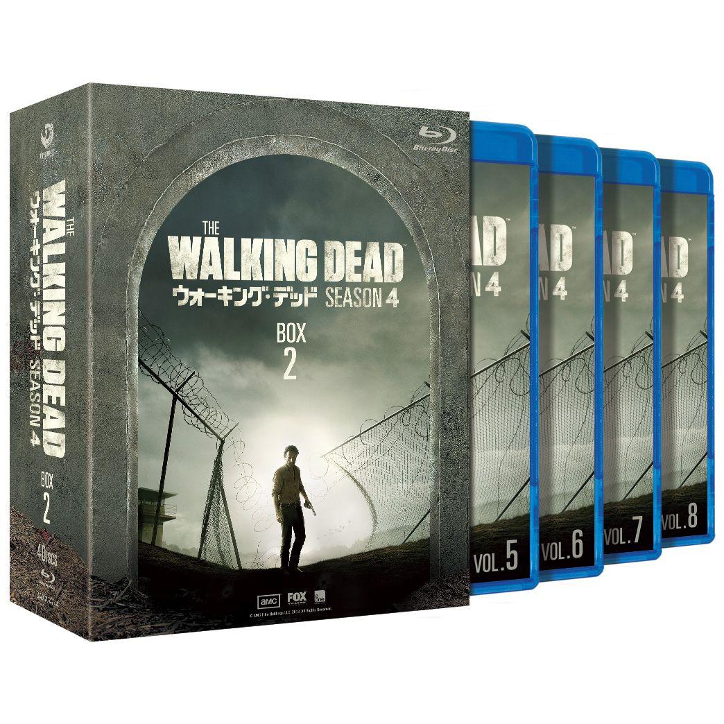 ウォーキング・デッド4 Blu-ray BOX-2【Blu-ray】 [ アンドリュー・リンカーン ]