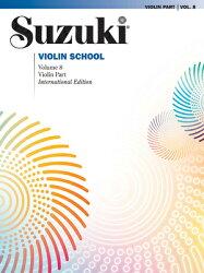 Suzuki Violin School, Vol 8: Violin Part