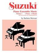 Suzuki Piano Ensemble Music for Piano Duet, Vol 1: Second Piano Accompaniments