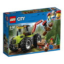 レゴ(LEGO)シティ 森のパワフルトラクター 60181