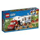 レゴ(LEGO)シティ キャンプバンとピックアップトラック 60182