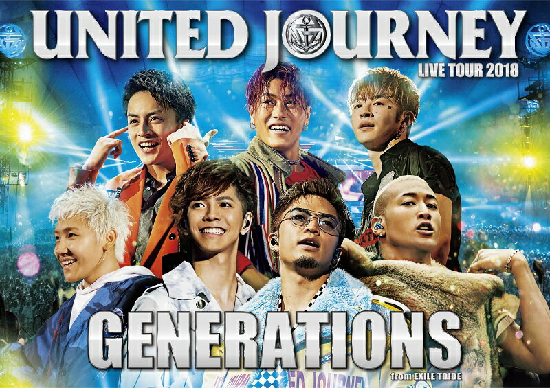 GENERATIONS LIVE TOUR 2018 UNITED JOURNEY(初回生産限定)【Blu-ray】 [ GENERATIONS from EXILE TRIBE ]