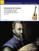 【輸入楽譜】ダウランド, John: ギターのための24のダウランド作品/ギター用編曲/ヘーゲル編