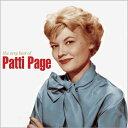 【輸入盤】Very Best Of [ Patti Page ]