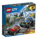 レゴ(LEGO)シティ 山のポリスカーとポリスバイク 60172