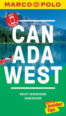 Canada West Marco Polo Pocket Travel Guide - With Pull Out Map