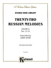 Twenty-Two_Russian_Melodies,_V
