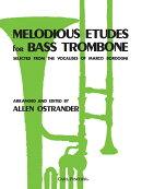 【輸入楽譜】オストランダー, Allen: バス・トロンボーンのための旋律的練習曲