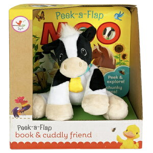 Moo Gift Set [With Plush Toy Cow] MOO GIFT SET (Book and Cuddly Plush Toy Friend) [ Cottage Door Press ]
