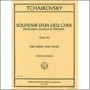 【輸入楽譜】チャイコフスキー, Pytr Il'ich: 3つの小品 Op.42 「懐かしい土地の思い出」/ガラミアン編