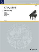 【輸入楽譜】カプースチン, Nikolai: 好奇心 Op.157