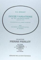 【輸入楽譜】モーツァルト, Wolfgang Amadeus: フランスの歌「ああ、お母さん聞いて」による12の変奏曲 ハ長調 KV 2…