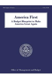 楽天ブックス america first a budget blueprint to make america