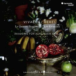 【輸入盤】ルベル:四大元素、ヴィヴァルディ:四季 ベルリン古楽アカデミー、ミドリ・ザイラー