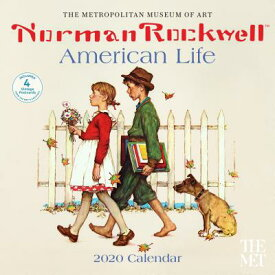 Norman Rockwell American Life 2020 Wall Calendar NORMAN ROCKWELL AMER LIFE 2020 [ Metropolitan Museum of Art the ]