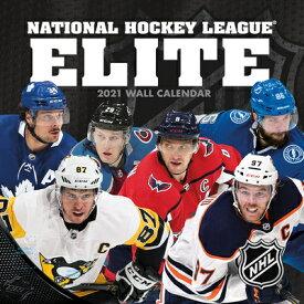 NHL Elite 2021 12x12 Wall Calendar NHL ELITE 2021 12X12 WALL CAL [ Lang Companies ]