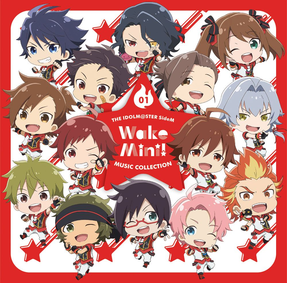 THE IDOLM@STER SideM WakeMini! MUSIC COLLECTION 01 [ 315 STARS(フィジカルVer.) ]