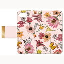 BL-BKI7-005 Bloem Flower 002-Pink 【iPhone6/6S/7 手帳ケース】