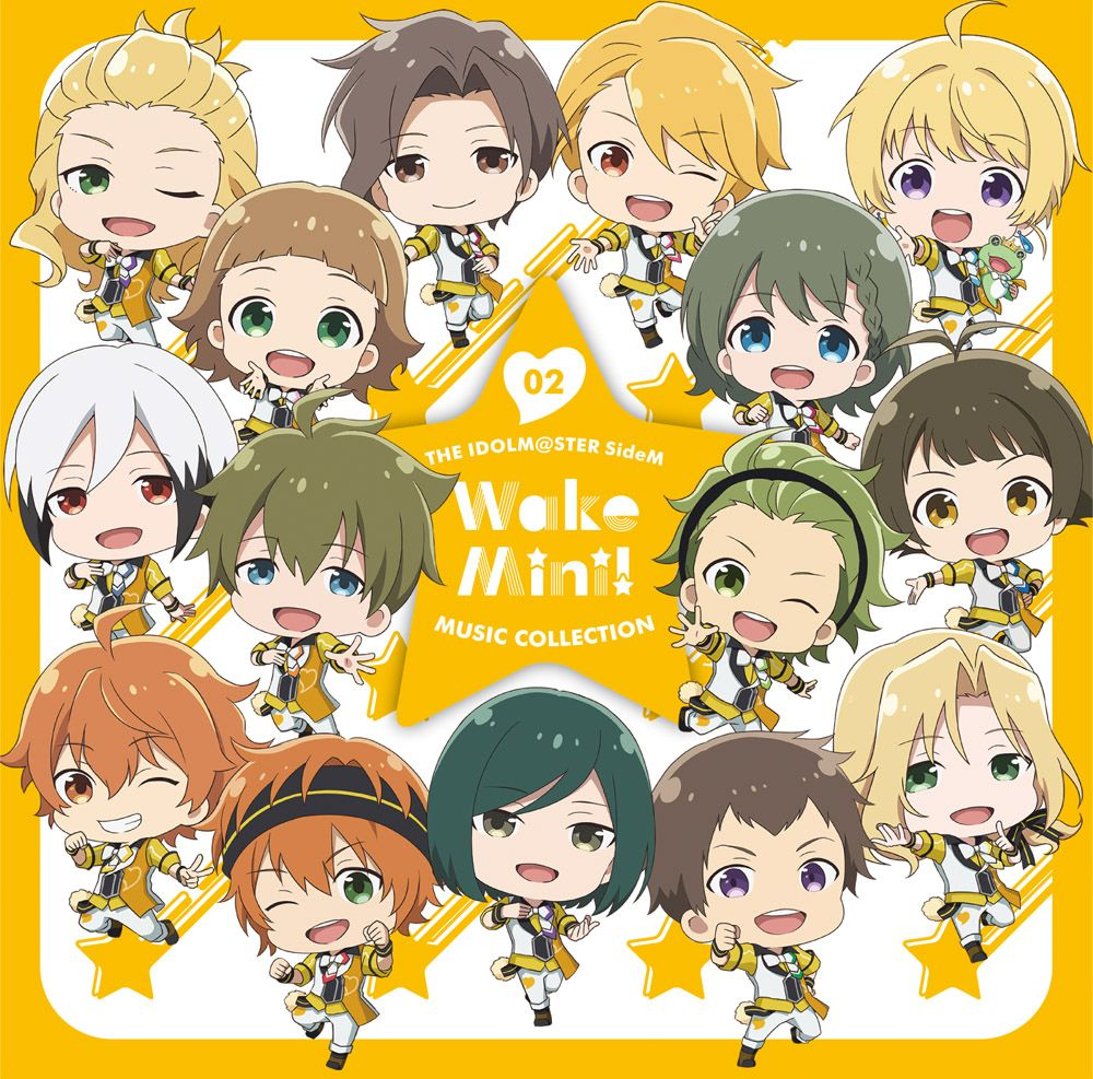 THE IDOLM@STER SideM WakeMini! MUSIC COLLECTION 02 [ 315 STARS(メンタルVer.) ]