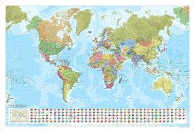 World Political Map MAP-WORLD POLITICAL MAP (Marco Polo Maps) [ Marco Polo Travel ]