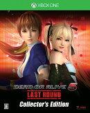 DEAD OR ALIVE 5 Last Round コレクターズエディション XboxOne版
