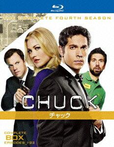 CHUCK/チャック<フォース・シーズン>コンプリート・ボックス【Blu-ray】 [ ザッカリー・リーヴァイ ]