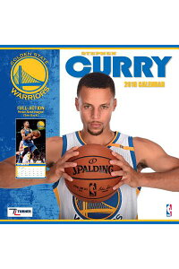 GoldenStateWarriorsStephenCurry2018WallCalendarCAL2018-GOLDENSTATEWARRIORS[ー]