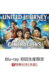 【先着特典】GENERATIONSLIVETOUR2018UNITEDJOURNEY(初回生産限定)(オリジナルステッカー付き)【Blu-ray】[GENERATIONSfromEXILETRIBE]