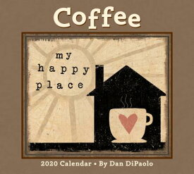 Coffee 2020 Deluxe Wall Calendar COFFEE 2020 DLX WALL CAL [ Dan DiPaolo ]