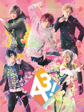 MANKAI STAGE『A3!』〜SPRING & SUMMER 2018〜(通常盤)【Blu-ray】 [ 牧島輝 ]
