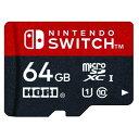 マイクロSDカード64GB for Nintendo Switch