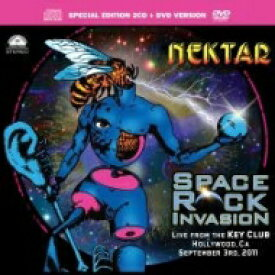 【輸入盤】Space Rock Invasion (2CD+DVD) [ Nektar ]